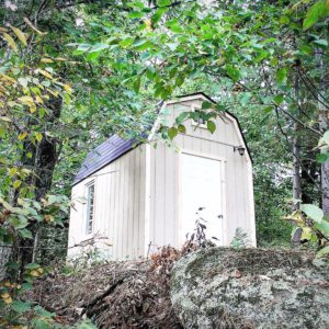 6'x8' Wood Barn Shed