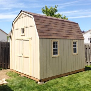 10'x12' Wooden Barn Shed