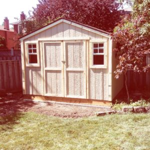12'x8' Wooden Gable Shed