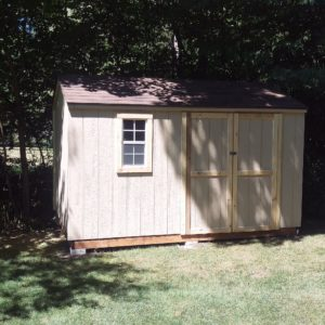 12'x8' Wood Cottage Workshop Shed