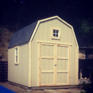 10 x 10 Barn Style Wooden Shed