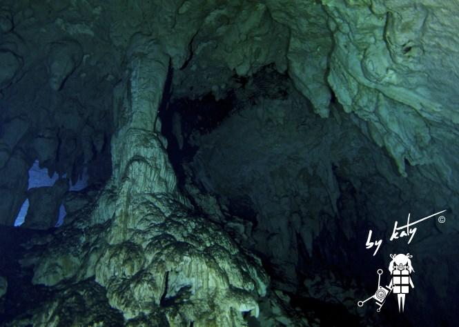 Gran Cenote 'pillars of the earth ii'