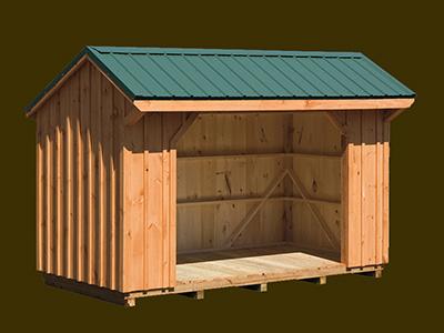 Horse Barns & Run-In Sheds