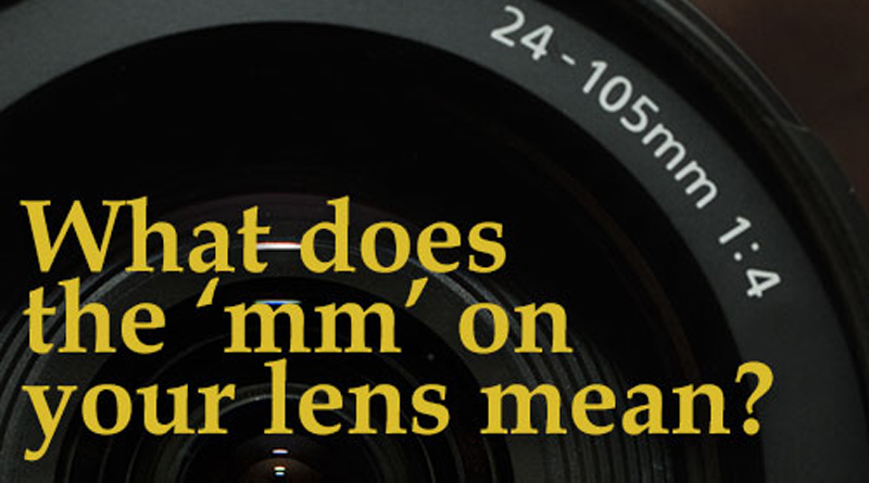 What Does The MM Mean On A Lens?