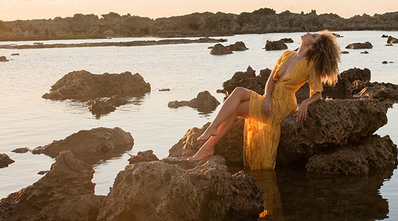 Golden Goddess Shoot in Hawaii