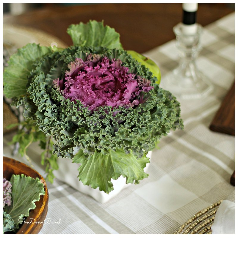 She Does a Bunch: Thanksgiving Table Ideas