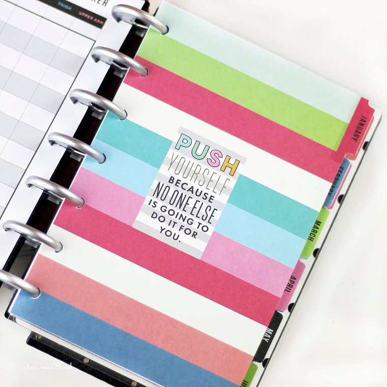 She Does a Bunch 2017 Planner Line Up