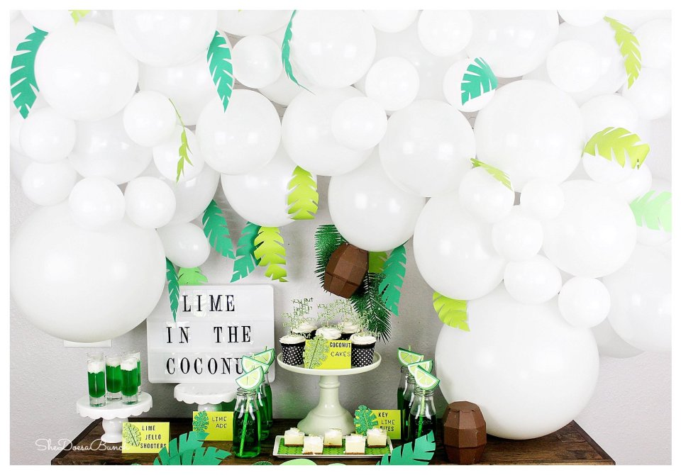 Lime In The Coconut Dessert Table