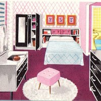 Triang Spot-On Jenny's Home Bedroom