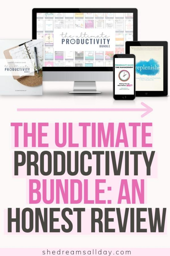 the ultimate productivity bundle review
