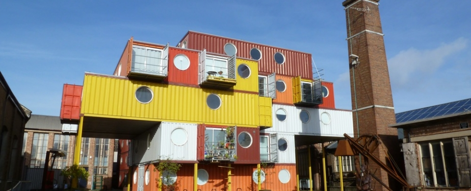 Container City Recycled Houses Shedreamsingreenblog