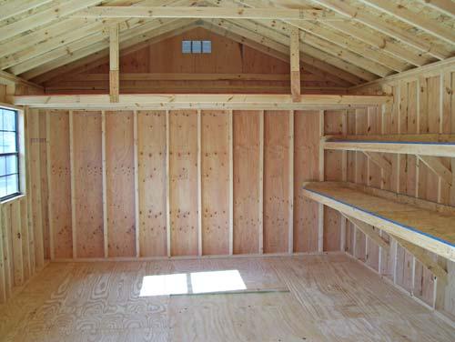Storage Building Kits For DIY Shed Blueprints