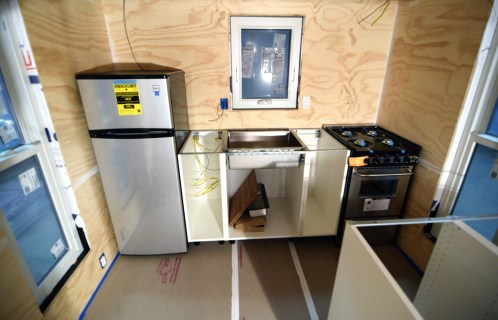 The beginnings of a Tiny House kitchen!