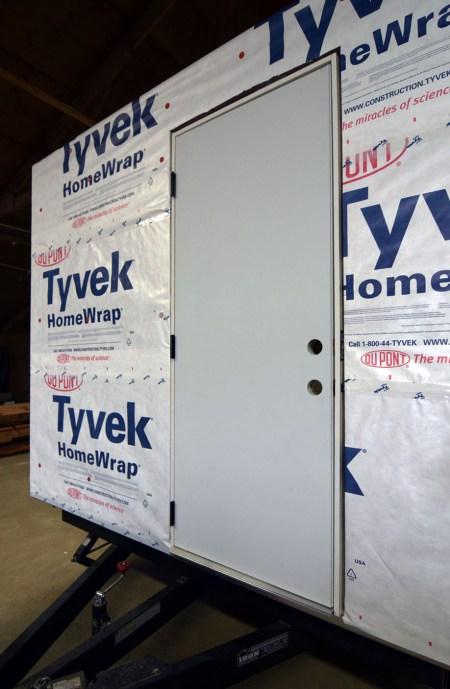 Gear Storage Door