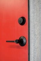 Gear room door detail