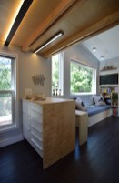 Peninsula counter and living space