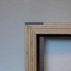 Stair nose & storage door detail