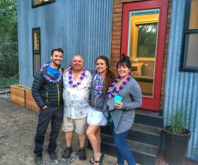 Family from out of town for the surprise party! Yakima, WA June 2016