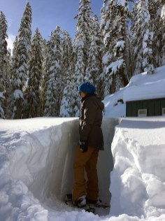 deep snowpack