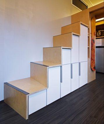 Stair storage