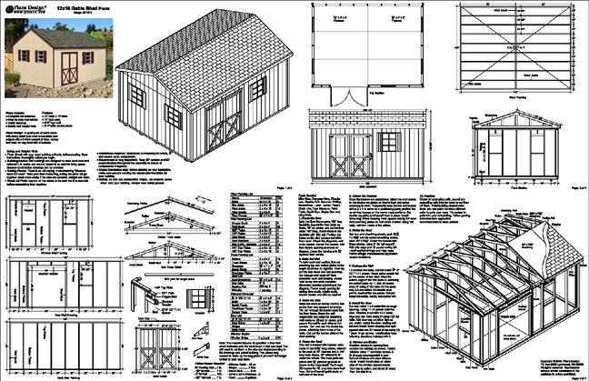 Generator Storage Shed Plans
