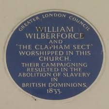 Plaque to wilberforce