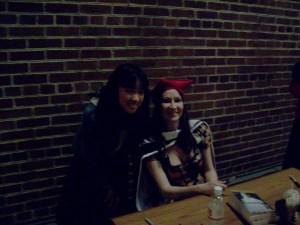 Me and Sara Gruen