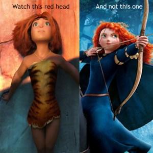 Croods vs. Brave