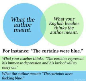 English teacher thinking