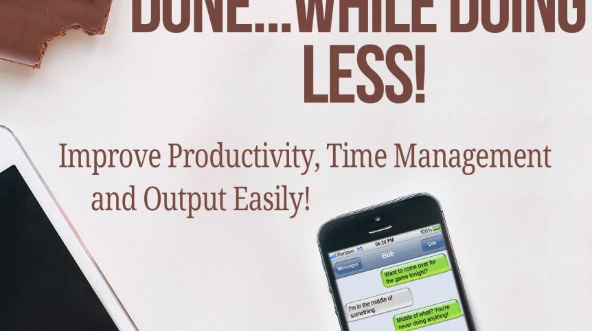 Productivity for Lazy Folk