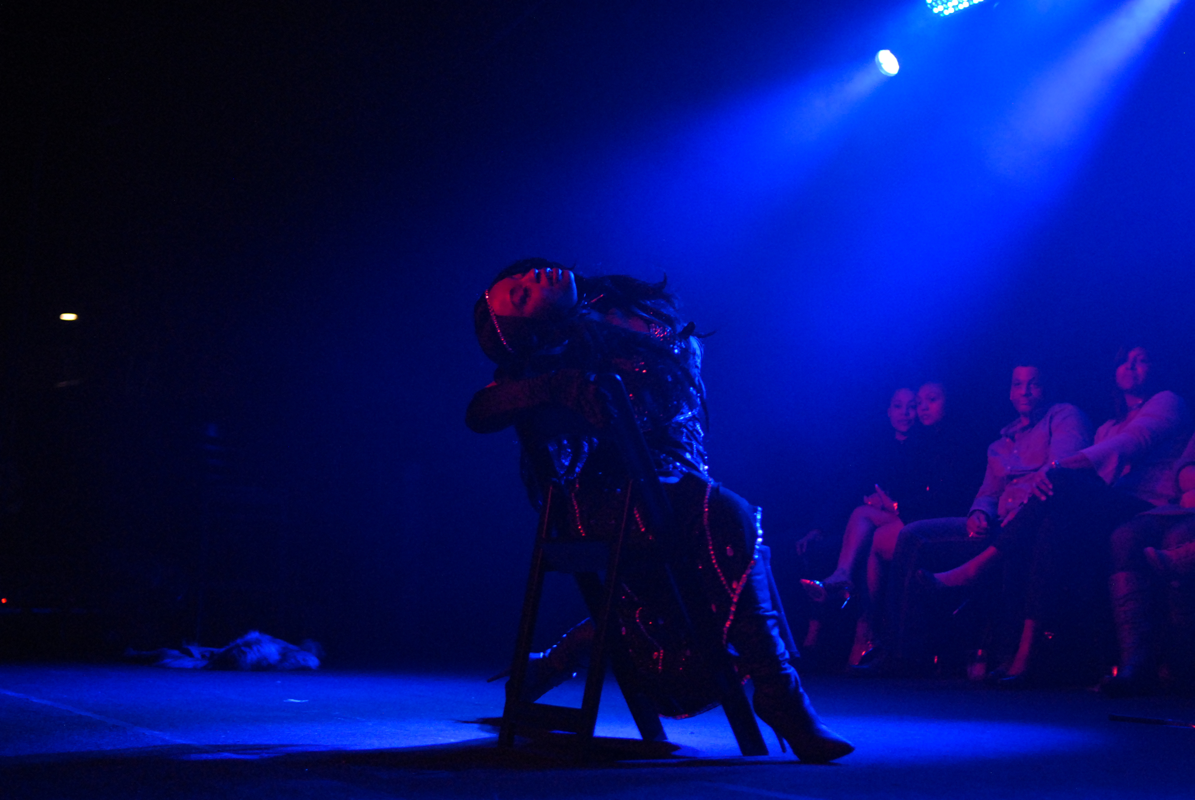 A Dominatrix Prepares – Burlesque Act