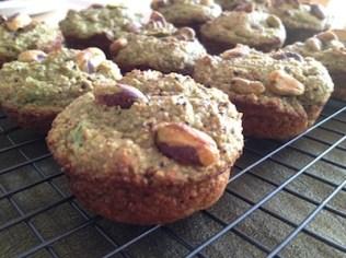 Pistachio Nut Muffins