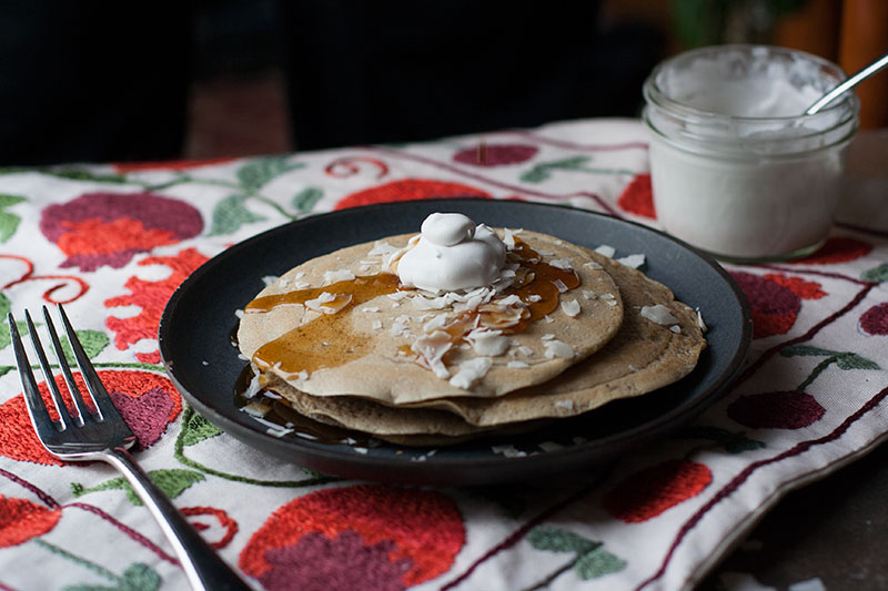 Gluten-Free Ginger Pancakes