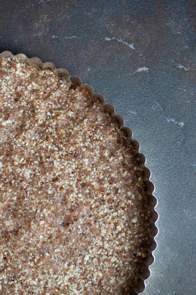 PumpkinSpice Ice Cream Pie - crust