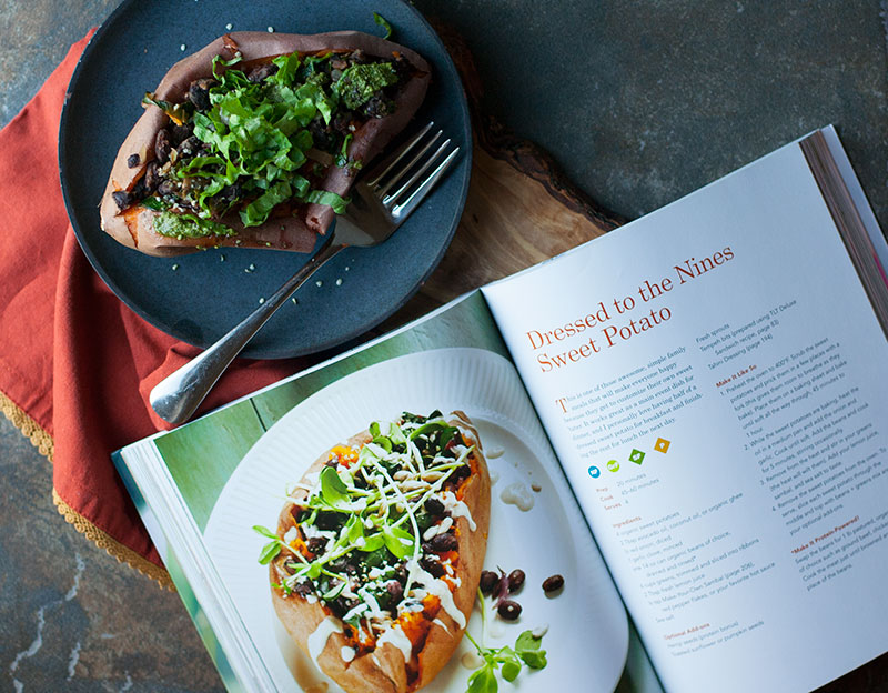 Dressed to the Nines Sweet Potato + The UnDiet Cookbook Review