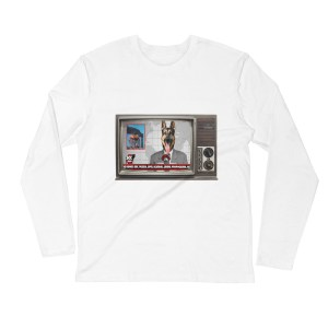 Broken News Long-Sleeve Tee