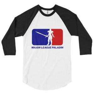 Greatsword Paladin 3/4 Baseball Raglan