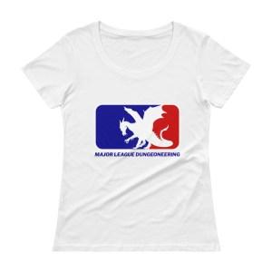 Women's Major League Wyvern Scoopneck Tee