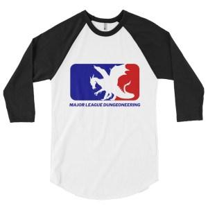 Major League Wyvern 3/4 Baseball Raglan