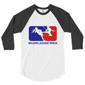 Shinobi Showdown 3/4 Baseball Raglan