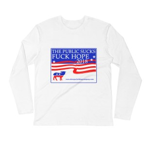 Your Vote Counts Long-Sleeve Tee
