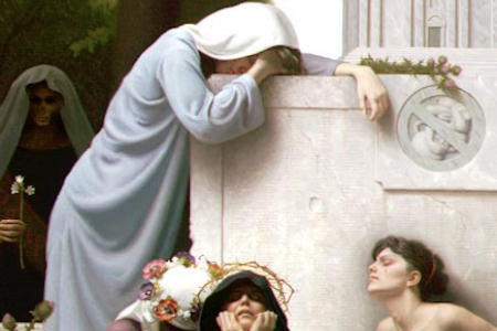 Image result for virgin mary weeping with Rachel
