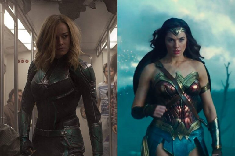 Captain Marvel vs. Wonder Woman:   What makes a female superhero and Who does it better?