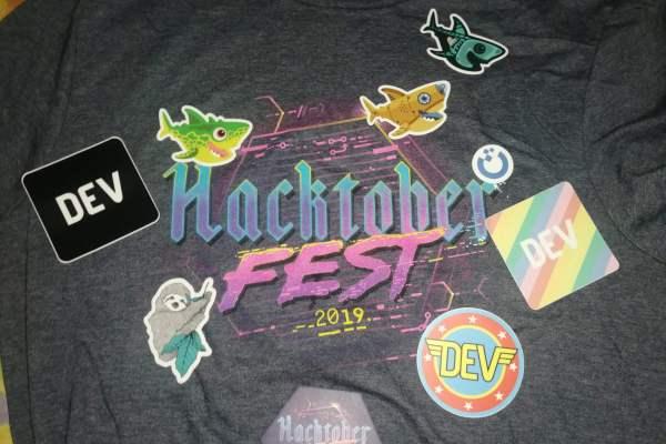 Got Hacktober Fest 2020 swag