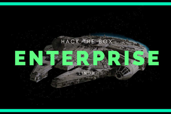 Enterprise Writeup / Walkthrough Hack the box