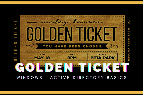 How to Golden Ticket Attack Active directory