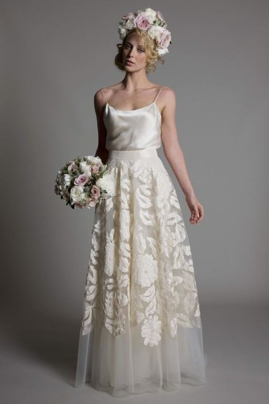 Be inspired by these gorgeous wedding dresses perfect for the Bride who wants to express her independent self | This and more at www.SheerEverAfter.com