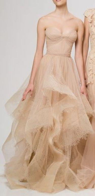 Champagne wedding dress inspiration @Sheer ever after