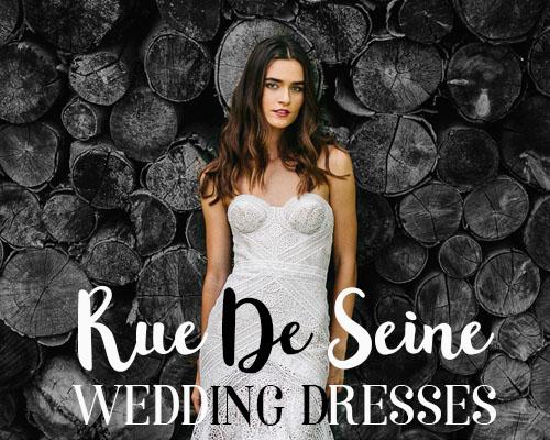 Bohemian Wedding dress inspiration - Rue de Seine @Sheer ever after