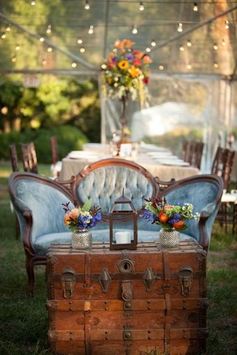 Beautiful Lounge Seating For Your Wedding Reception